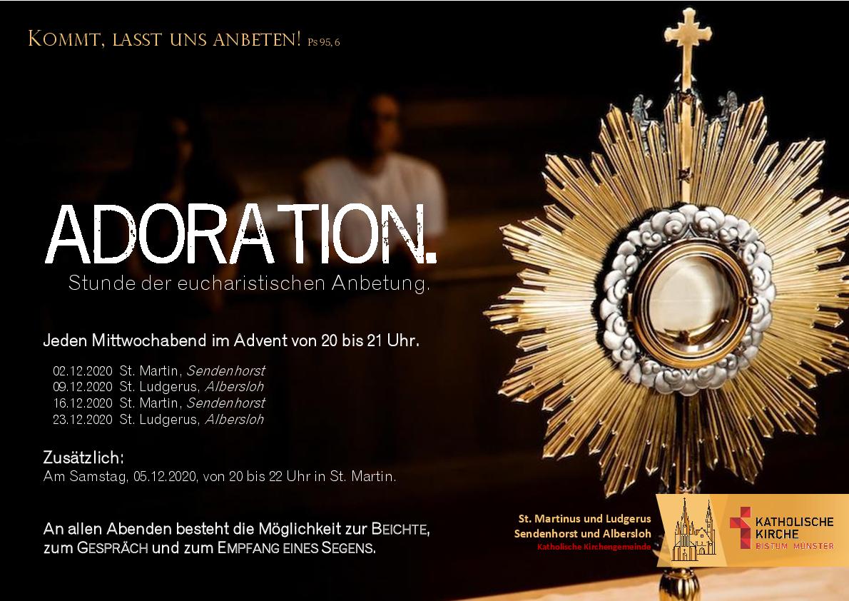 Impulse Zur Eucharistischen Anbetung